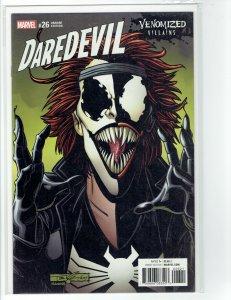 Daredevil Vol 5 #26 NM Cover B Variant  Venomized Typhoid Mary  (Marvel 2017)