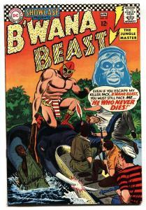 SHOWCASE #67 1967-DC-B'wana Beast VF