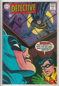 Detective Comics #376 (Jun-68) FN/VF Mid-High-Grade Batman, Robin the Boy Wonder