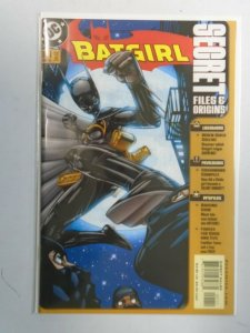 Batgirl Secret Files #1 8.0 VF (2002)