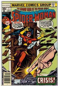 SPIDERWOMAN 7 VF-NM Oct. 1978 COMICS BOOK