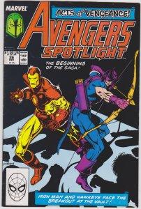 Avengers Spotlight #26