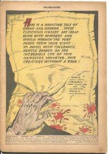 CLASSICS COMICS #26--FRANKENSTEIN-1945-MARY SCHELLEY-ANN BREWESTER ART--1st ED