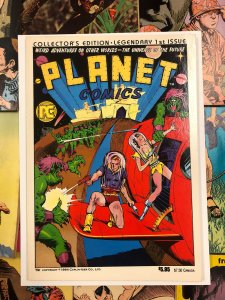 Planet Comics Collectors Edition LEGENDARY 1st ISSUE VF+ 8.5 ray funk 1984 scifi