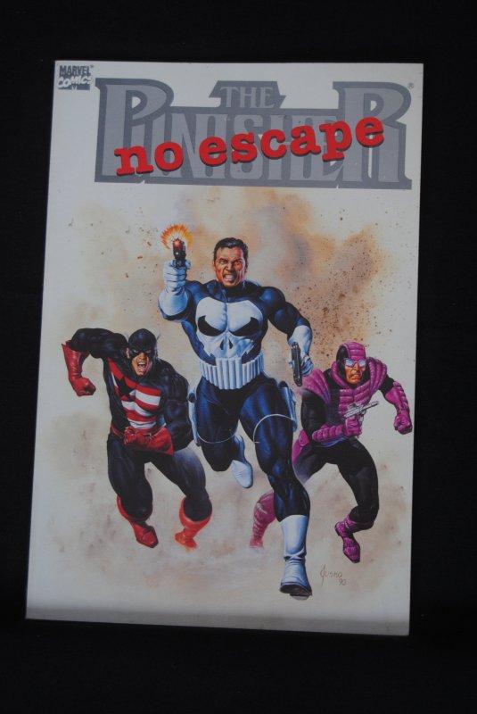 The Punisher, No Escape, Jusko cover.