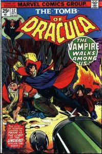 Tomb of Dracula (1972 series) #37, VF- (Stock photo)