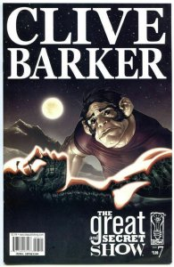CLIVE BARKER - The GREAT and SECRET SHOW #7, NM-, 2006, more Horror in our store