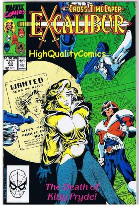 EXCALIBUR #23, NM, Phoenix, Captain Britain,1988 1990, more Marvel in store