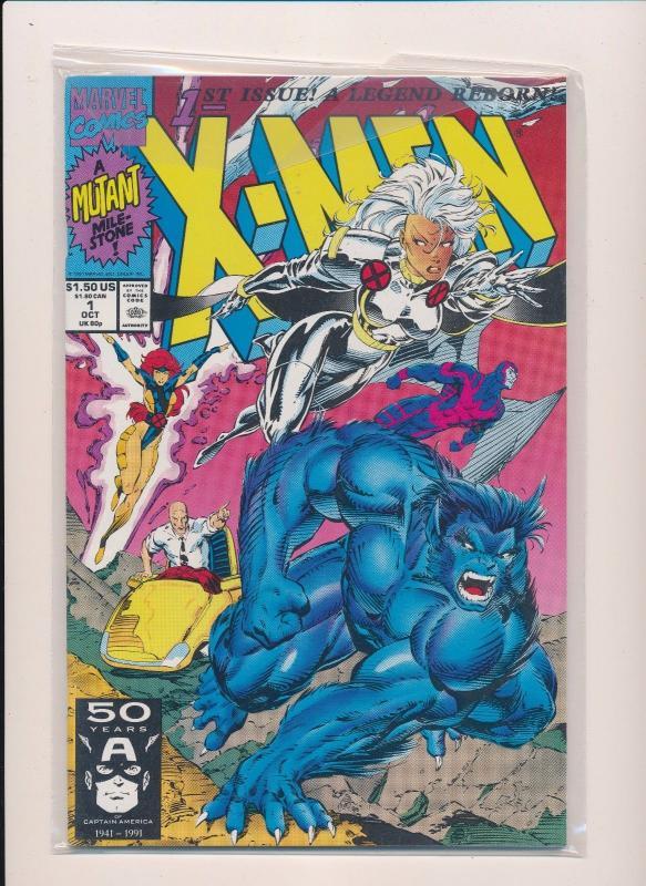 Marvel X Men 1st Issue A Legend Reborn 1 Near Mint Sru455 Hipcomic