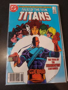 Tales of the Teen Titans #54 DC - Trial of Deathstroke 1984