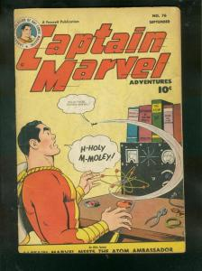 CAPTAIN MARVEL ADVENTURES #76 1947-CC BECK'S OWN COPY VG