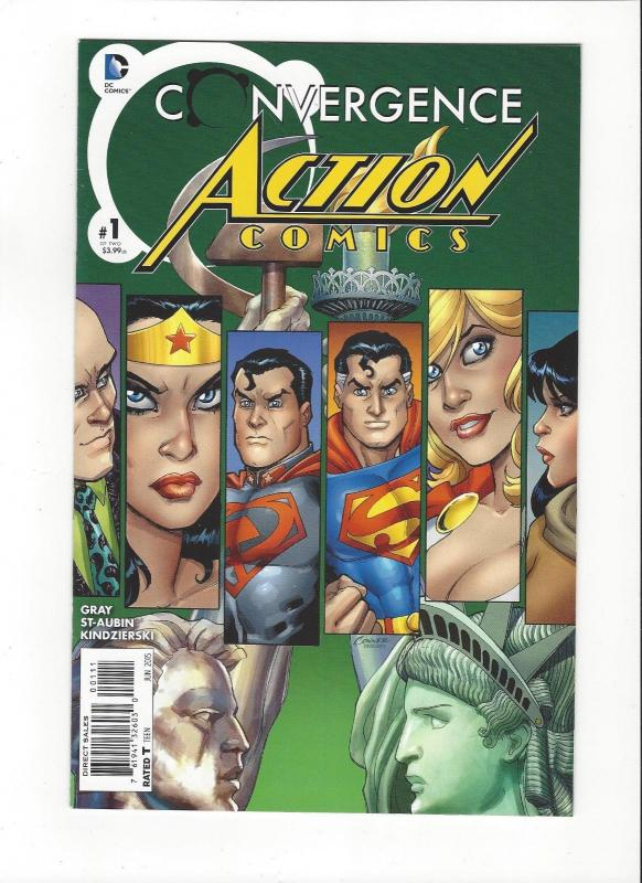 Action Comics  # 1 DC Comics New 52 Convergence Mint