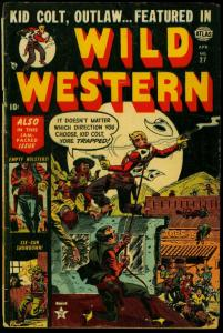 Wild Western #27 1953- Atlas Golden Age- Kid Colt- Tuska art VG
