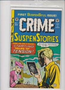 CRIME SUSPENSTORIES  REPRINT  #1 1993  / VF + / - QUALITY