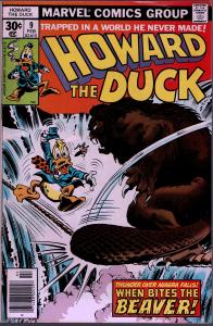 Howard the Duck #9 - 1st Series - 8.0 or Better