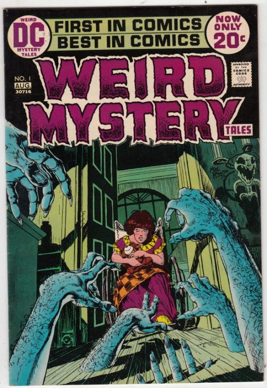 Weird Mystery Tales #1 (Aug-72) VF/NM High-Grade
