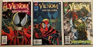 Venom along came a spider run:#2,3,4 8.0 VF (1996)