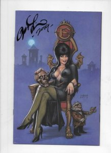 ELVIRA Mistress of the Dark #1 H, FN, Dynamite, 2018, Signed Joseph Linsner