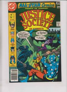 All-Star Comics #70 VF justice society of america - early huntress - joe staton