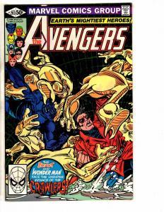 Lot Of 4 Avengers Marvel Comic Books # 203 204 205 206 Iron Man Hulk Thor J265