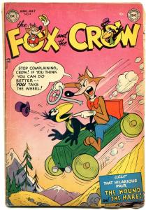 The Fox and the Crow #4 1952- DC Funny Animals Golden Age VG
