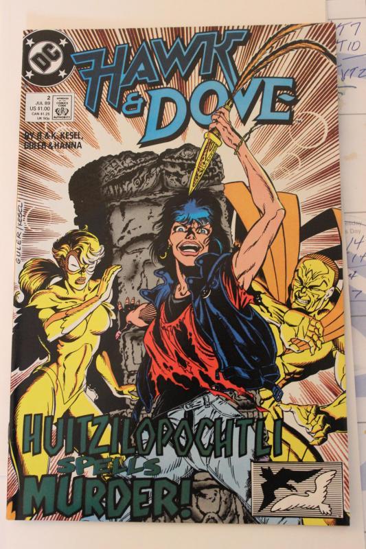 Hawk and Dove  #2(89) 9-4-nm