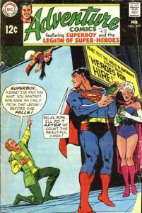 Adventure Comics (1938 series) #377, Fine- (Stock photo)