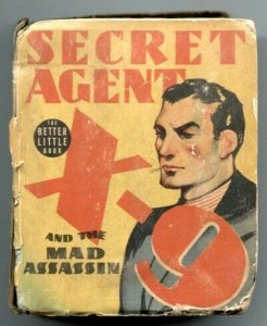 Secret Agent X-9 and the Mad Assassin Big Little Book 1938