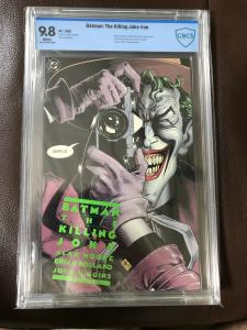 Batman The Killing Joke. 1st Edition CBCS 9.8 White Pages. Embossed cover 1988.
