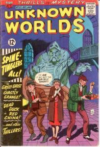 UNKNOWN WORLDS (1960-1967 ACG) 52 VG-F Jan. 1967 COMICS BOOK
