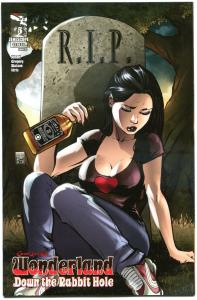 GRIMM FAIRY TALES Down the RABBIT HOLE #5 C, NM, 2013, Wonderland, more in store