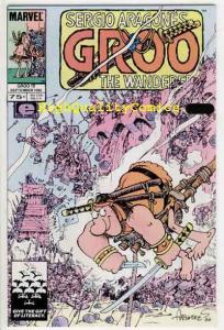 GROO the WANDERER #19, NM, Castle, War, Sergio Arragones, more SA in our store