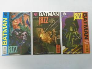 Batman Jazz Set #1-3 (1995) 8.0 VF