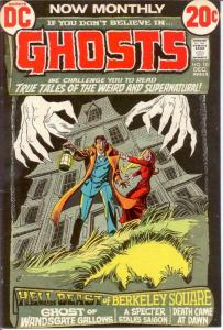 GHOSTS 10 F-VF Dec. 1972 COMICS BOOK