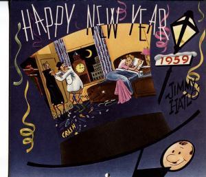 They'll Do It Every Time 1959 Calendar-Jimmy Hailo RARE