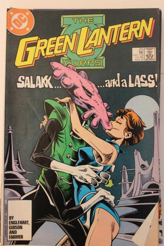 Tales of the Green Lantern Corp  #215 7-0-fn-vf