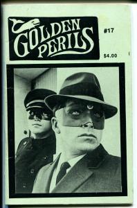 Golden Perils #17 1991-TV Green Hornet-Van Williams-The Shadow-VF