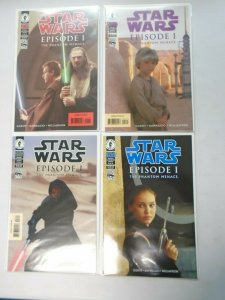 Star Wars Episode 1 Set: #1-4 8.0 VF (1999)