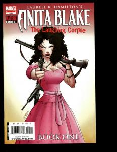 7 Anita Blake Vampire Hunter Comics Laughing Corpse 1 2 3 4 5 1st Death 1 2 SM2