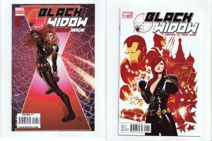 Black Widow #1 2010 Series #1 Deadly Origin Tom Raney Variant Marvel Comics Lot