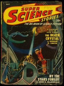 Super Science Pulp May 1950- John D MacDonald- George O Smith G/VG