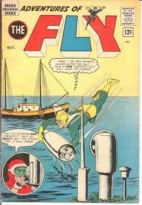 ADVENTURES OF THE FLY 28 VG-F COMICS BOOK