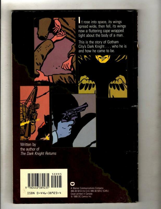 Batman Year One DC Comics TPB Graphic Novel Comic Book Frank Miller SM8