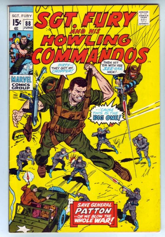 Sgt. Fury and His Howling Commandos #88 (Jun-71) FN/VF+ Mid-High-Grade Sgt. F...