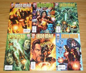 Iron Man: Hypervelocity #1-6 VF/NM complete series - adam warren - marvel comics