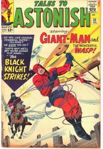 Tales to Astonish 52 - 1st App Black Knight (N. Garrett) Stan Lee & Jack Kirby E