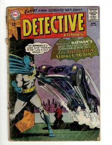 Detective Comics # 340 VG DC Comic Book Batman Robin Joker Gotham Penguin KD1