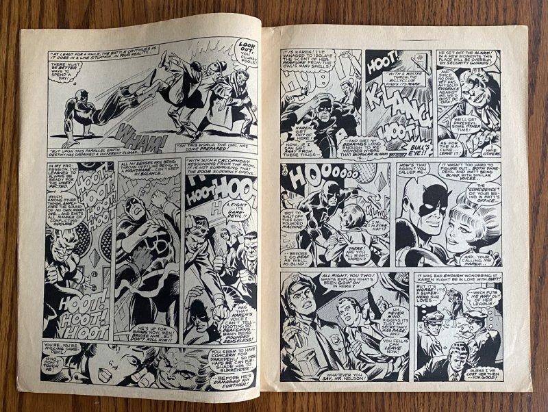 LOT OF 2 MARVEL TEAM-UP UK NEWSPAPER MAGAZINES #9 & 12 1980 DAREDEVIL England