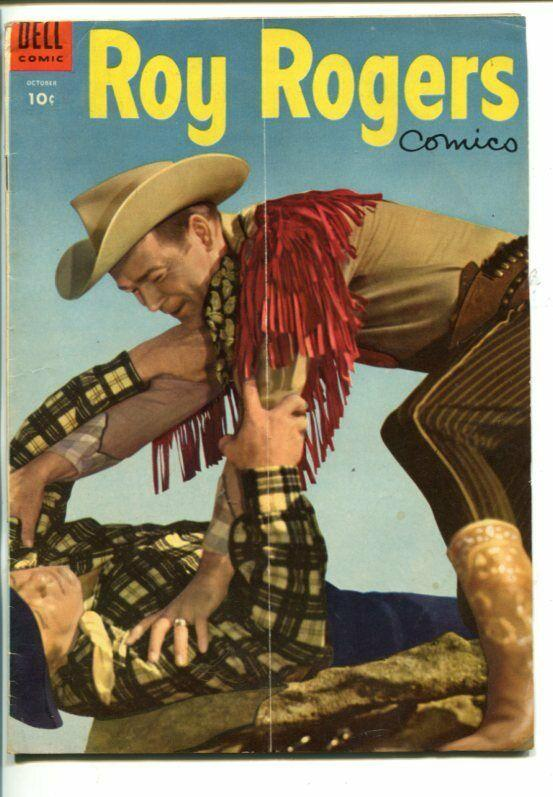 ROY ROGERS #82-1953- PHOTO COVER-KING OF THE COWBOYS-vg