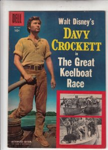 Four Color #664 (Nov-55) VF+ High-Grade Davy Crockett